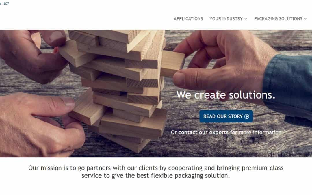 LPF Flexible Packaging launches new website with a focus on our customers and experts