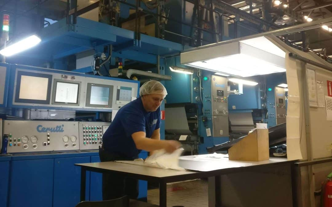 Getting personal with our gravure experts: an interview with LPF's Sido van der Ploeg