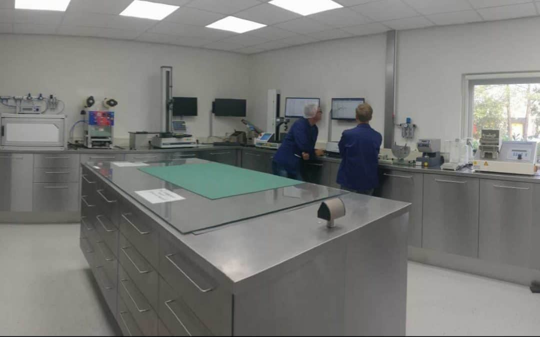 Construction of LPF Flexible Packaging's new 'Halma' laboratory is now finished!