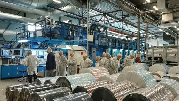 We gave a factory tour to make good on the 'people'-part of our Triple Bottom Line