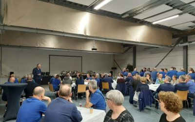 Looking back at our team-brunch in our packaging factory, a.k.a. our 2020 LPF New Year Brunch!